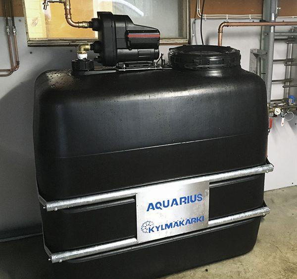 Kylmäkärki - Aquarius energiatalteenottopiiri