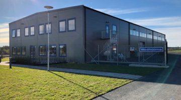 Wedholmsin uusi tehdas otettiin käyttöön 26. syyskuuta