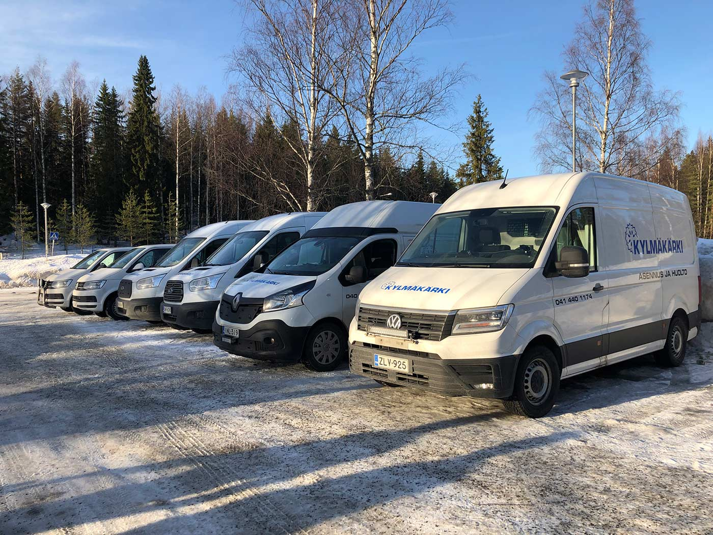 Huoltajamme Markku Järvenpää jää eläkkeelle Kylmäkärki Oy:stä ansiokkaan yli 33 v työrupeaman jälkeen.