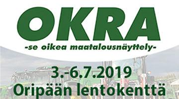 Olemme mukana OKRA-maatalousnäyttelyssä